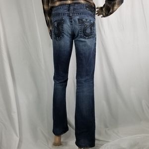 Big Star Boot Cut distressed and destroyed Jeans